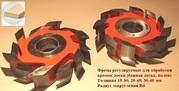 Фрезы для обработки кромок доски - банной доски,  палубной доски,  прямой планкен,  полог H=20-45 мм